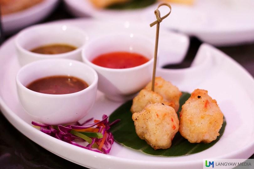 Manila Hotel's Bar Bites Philippine street food