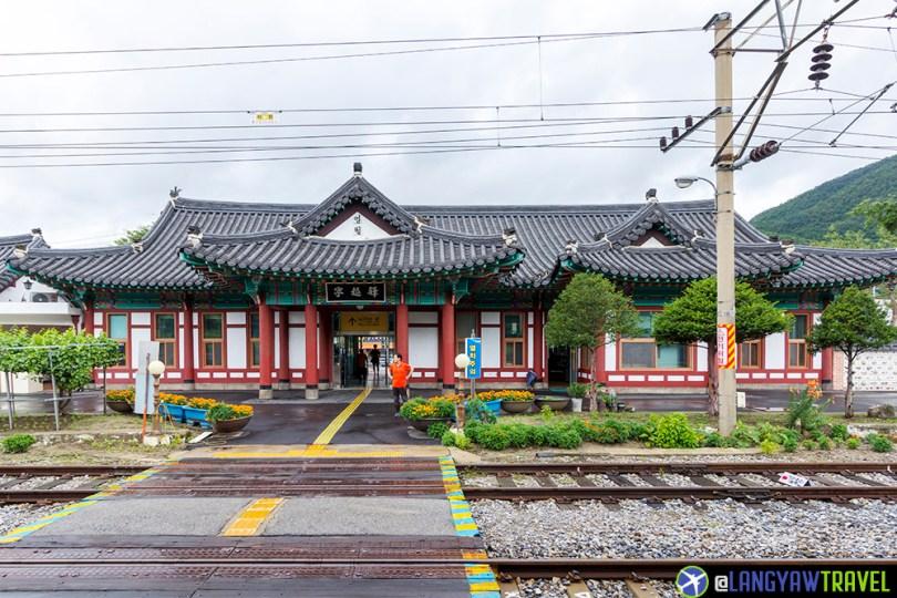 Yeongwol to Seoul by train