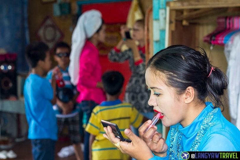Tausug wedding in Sitangkai