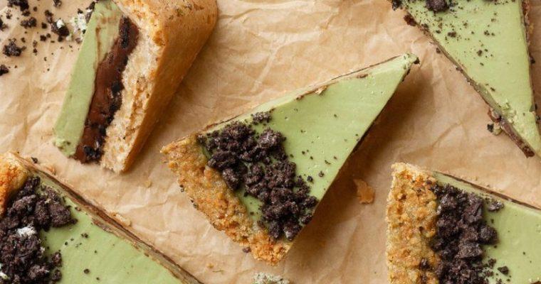 Matcha Oreo Pie