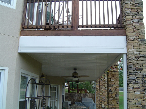 Under Deck Canopies  Lanier Aluminum Products