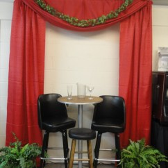 White Table Chairs Handmade Rocking Pipe & Drape | Lanier Tent Rental