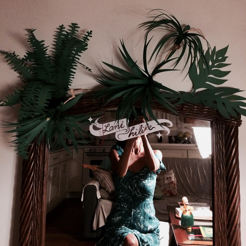 Lani's Tropical Plants Paper Craft