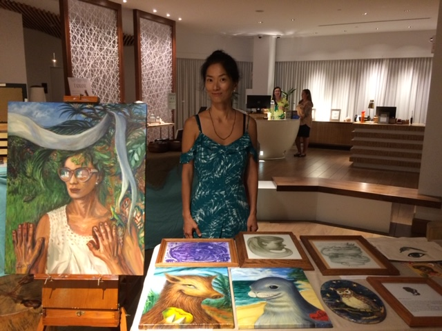 Photo – Hyatt Centric Waikiki Beach Art Show