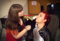 Making-off reportagem EPTV - Freeday anime rpg 03