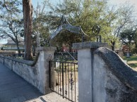 Gate to the old cemetery