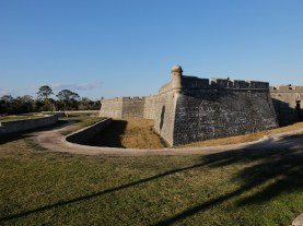 Walls of the old fortress