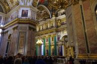 Inside St. Isaac Cathedral