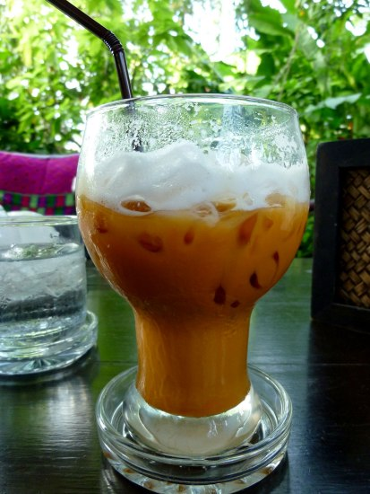 Thai ice tea @Fern Forest Cafe