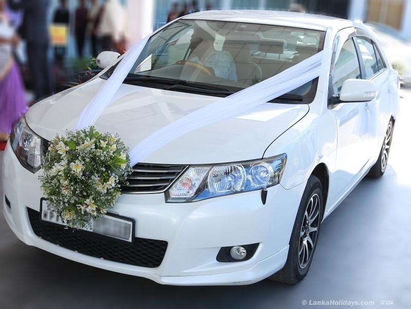 Sri Lanka Car Rentals/Hire - Wedding Car Hire Yakkala ...