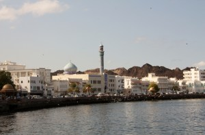 Mutrah harbour, old Muscat