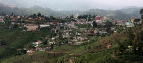 Haputale town, SL