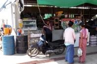 Myanmar filling station near Nabule Beach