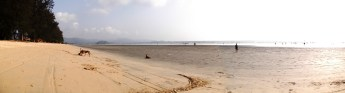 Maungmakan beach panorama