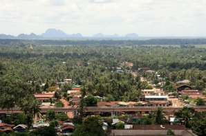 View north-east from Kyaik Tan Lan