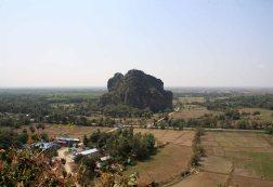 View of Kyain ta loan, near Mudon