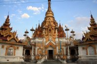 Taunggyi hill temple