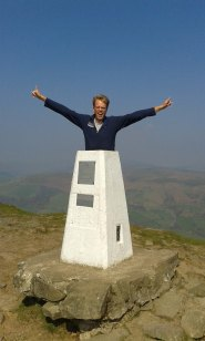 Skirrid trig point, Wales