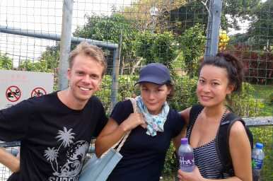 Total chance meeting of our only friend in Hong Kong, Nikki