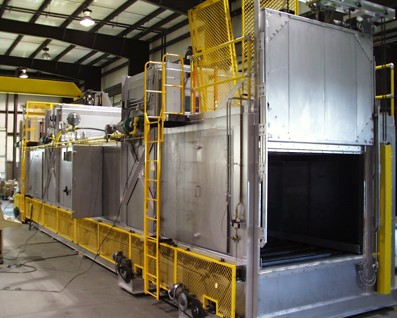 The Lanly Company - Photo Gallery - Industrial Ovens. Dryers. Heat Treating