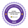 Microsoft Education - Country Global Training Partner of the Year Award 2020
