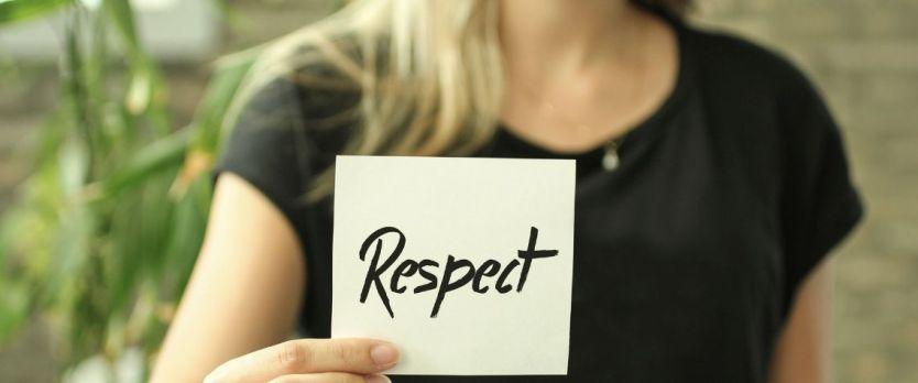 Ser assertivo é ter respeito