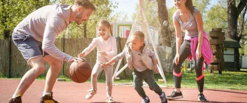 Jogar com os filhos