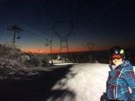 Ski nocturne!