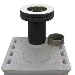 Schiedel permeter Smooth 130 mm lähtökappale