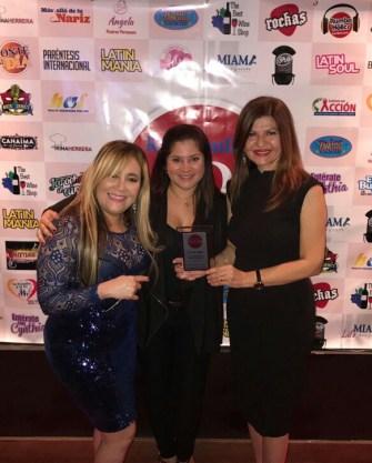 Marisol Casola de La Per Beauty Salon, Rochy Cantillo y Marybel Torres