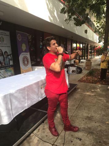 El talento venezolano estuvo presente en el evento.