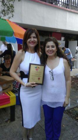 Marybel Torres y Pilar Vélez