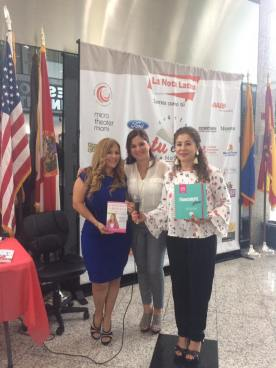 Alexia Ramírez, Rosana Cantillo y Pilar Vélez.