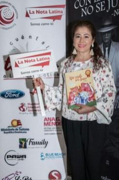 La escritora Pilar Vélez.