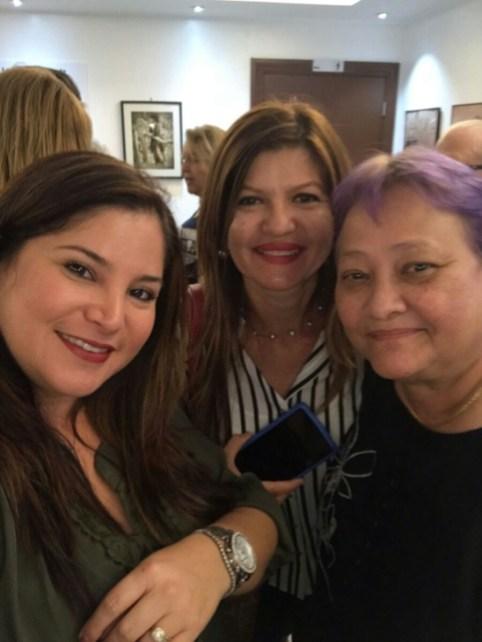 Rosana Cantillo, Marybel Torres y Ena Columbié