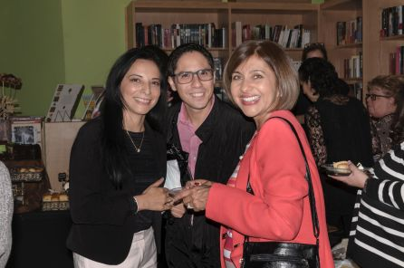 Nubia Neme, Romel Gómez e Ivonne Fernandez