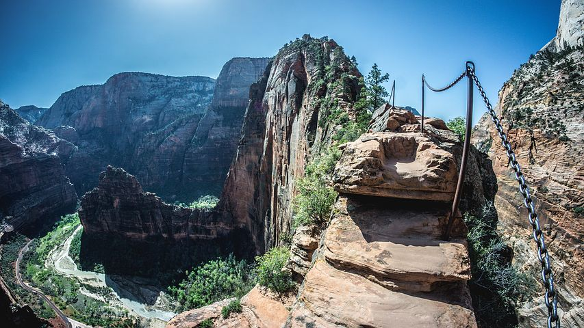 Parque Nacional Zion: un espectáculo visual que no te debes perder