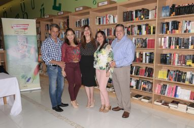 Sadam y Carlas Abas, Marybel Torres, Rosana Cantillo y Armando Morales