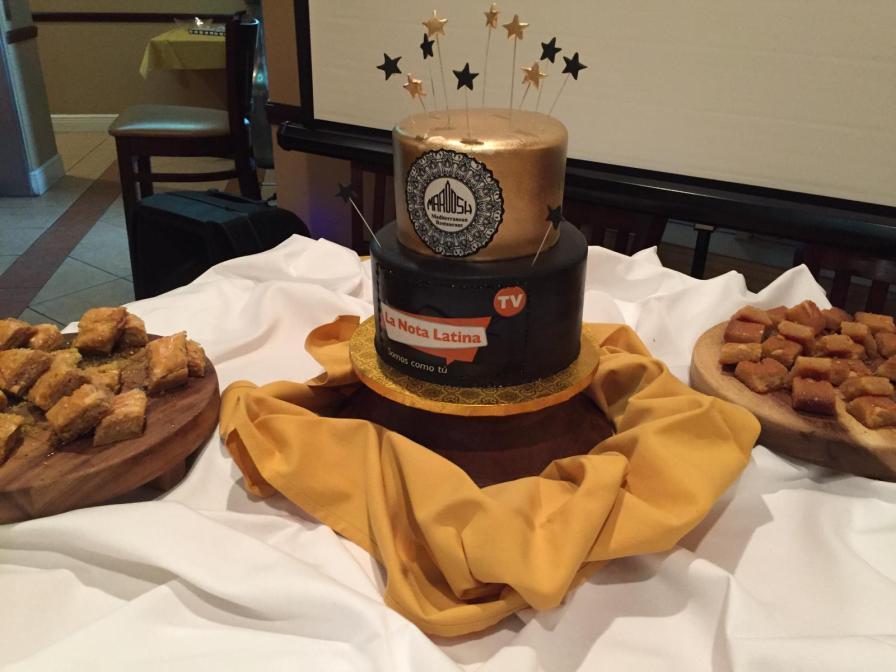 El delicioso pastel elaborado por Designer's Cake Unique