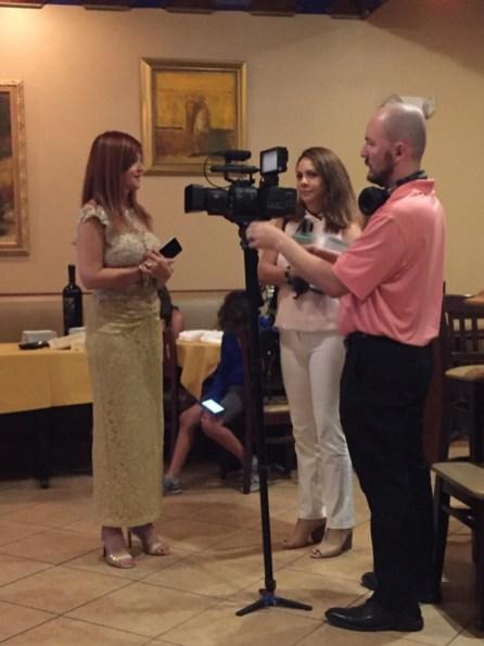 Marybel Torres es entrevistada por Daina Rocha, reportera de Coral Gables Television
