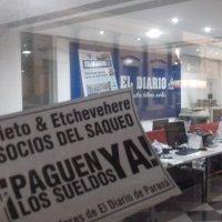"""Trabajadorxs denuncian persecución en """"El Diario"""""""
