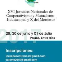 Jornadas de Cooperativismo y Mutualismo Educacional