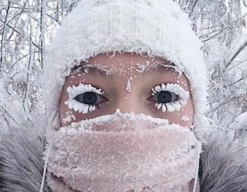 Siberia vive una ola de frío extremo: 65 grados bajo cero