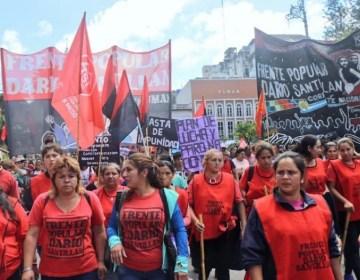 Tucumán también se movilizó en contra de las políticas económicas del gobierno