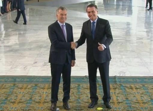 Macri y Bolsonaro mantienen su primer encuentro oficial