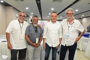 Ángel Muñiz, Claudio Chea, Carlos Germán y Peyi Guzmán