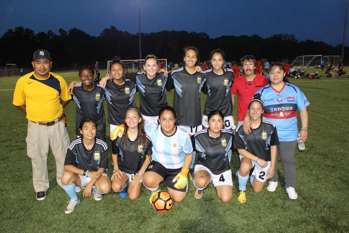 Foto del equipo de Argentina