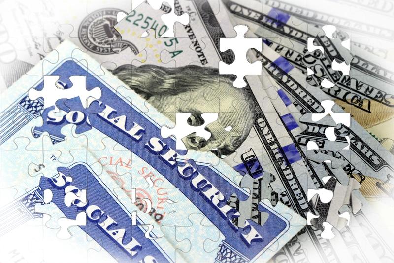 Foto de una tarjeta de seguro social