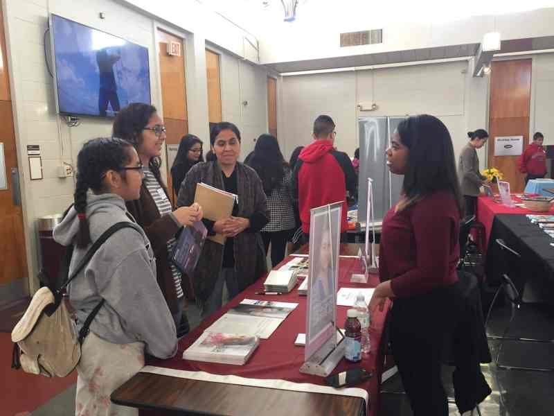 Panorama de estudiantes universitarios