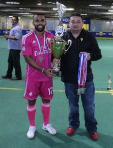 Foto del equipo subcampeón Real Madrid